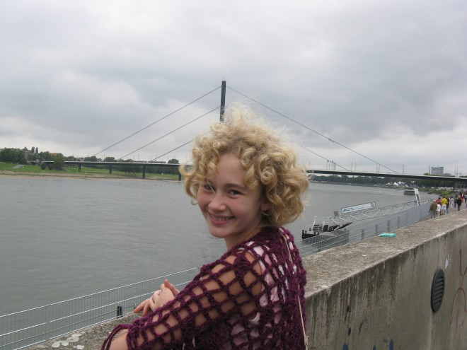 Milla on the Rhine, August 14, 2011
